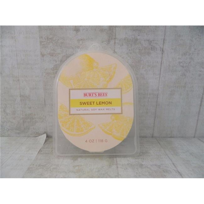 Burts Bees 119404 6.5 oz Sweet Lemon Soy 2-Wick Jar Candle, Pack of 4