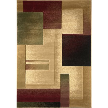 Home Dynamix Evolution Collection Area Rug  Cream