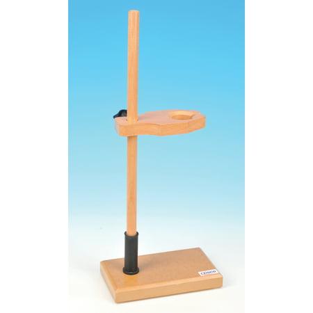 Adjustable Funnel Stand, Polished Wood, 1.5