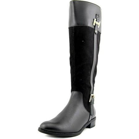 Karen Scott Deliee Wide Calf Women Round Toe Boots ()