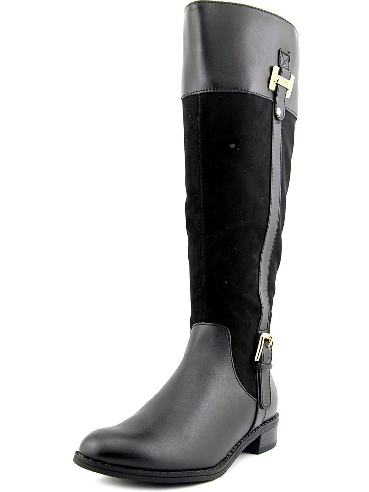 Karen Scott Deliee Wide Calf Women Round Toe Boots