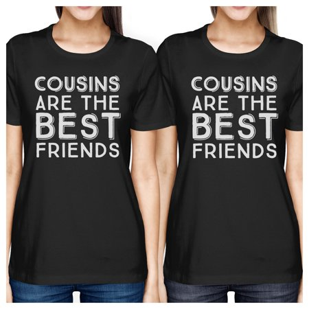 Cousins The Best Friends Black Family Matching Funny Graphic (Best Ladies Sunglasses)
