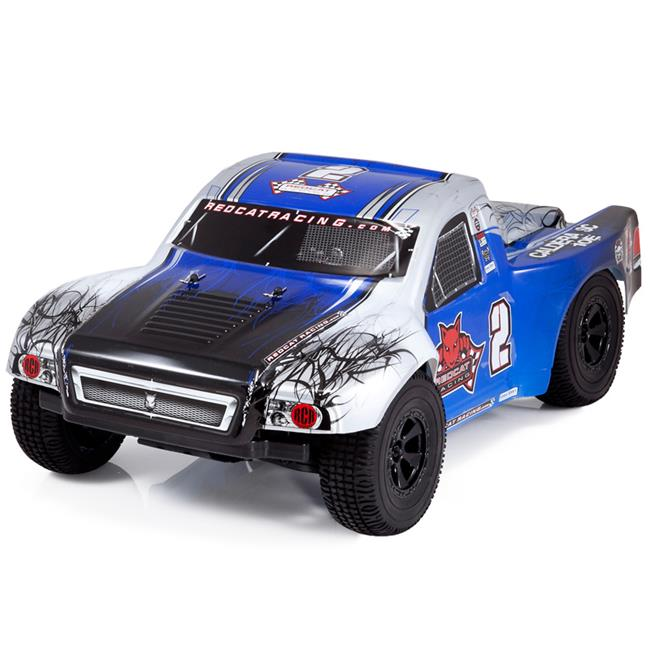 Redcat Racing CALDERA-SC-10E-BLUE Caldera SC 10E 1-10 Scale Brushless Short Course Truck - Blue