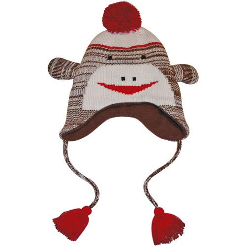 MUK LUKS Sock Monkey Hat