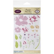 """JustRite Papercraft Clear Stamps 4""""X6""""-Romantic Wild Roses"""