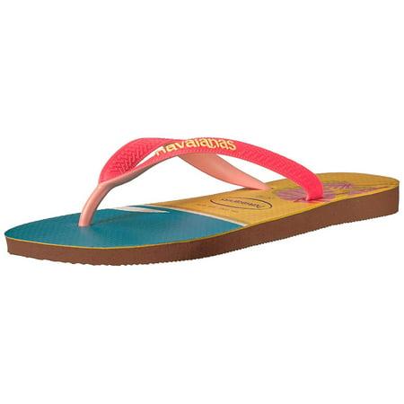 75c236af40a4 Havaianas Women s Top Fashion Sandal Rust - image 2 ...