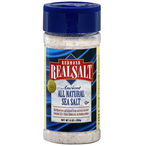 Real Salt Sea Salt, 9 oz (Pack of 12)