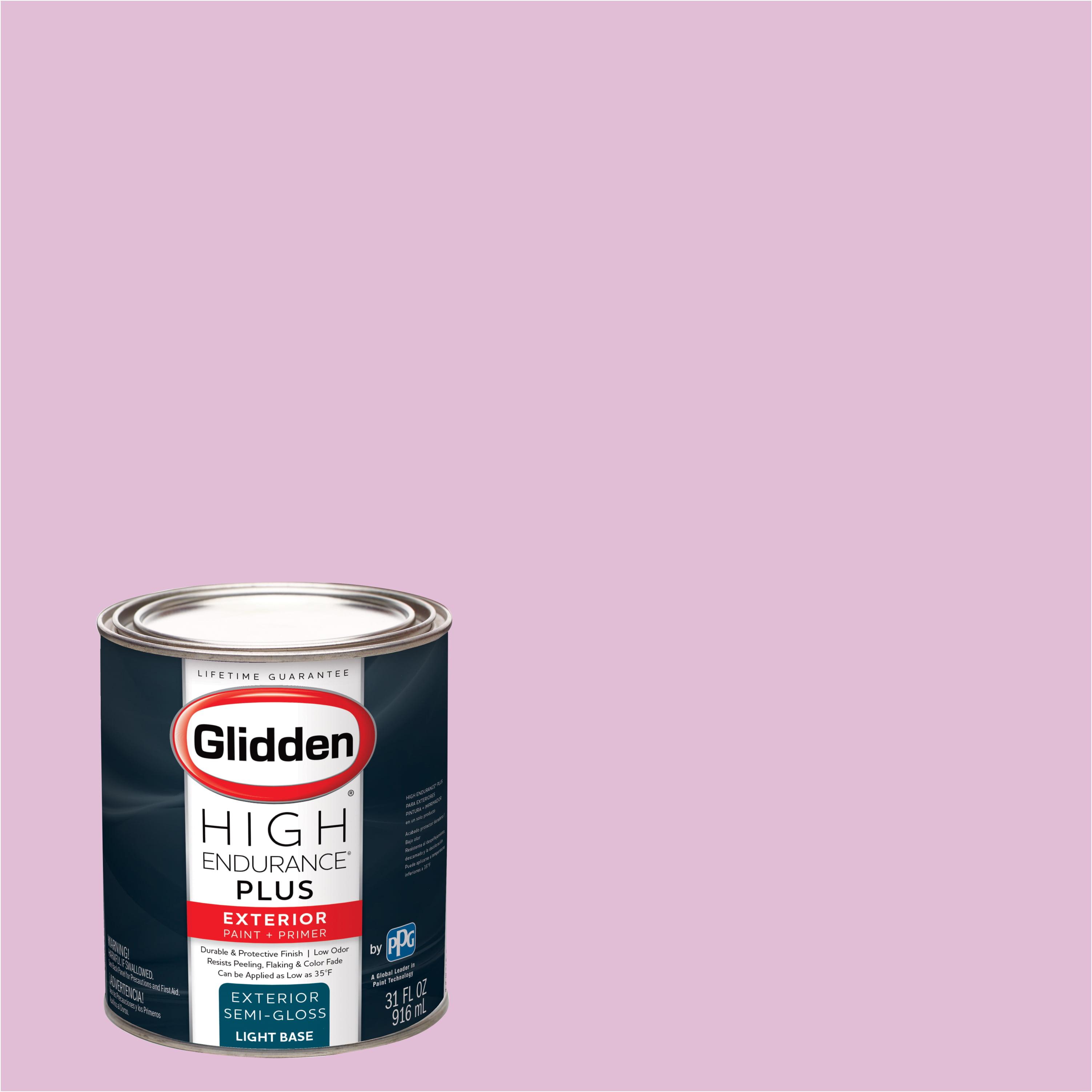 Glidden High Endurance Plus Exterior Paint Bubblegum Pink 10rr 60 197