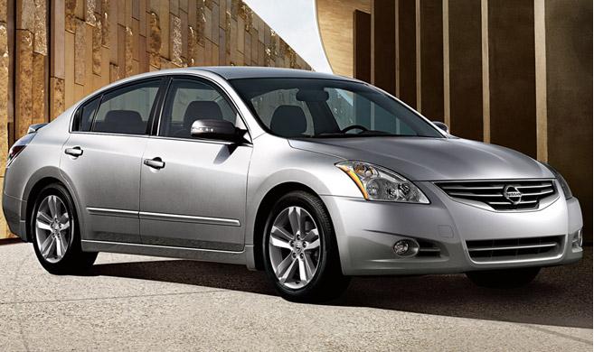 Light Grey Outside Mount Visor Rain Guard 4pcs For Nissan Altima Sedan 2007-2012