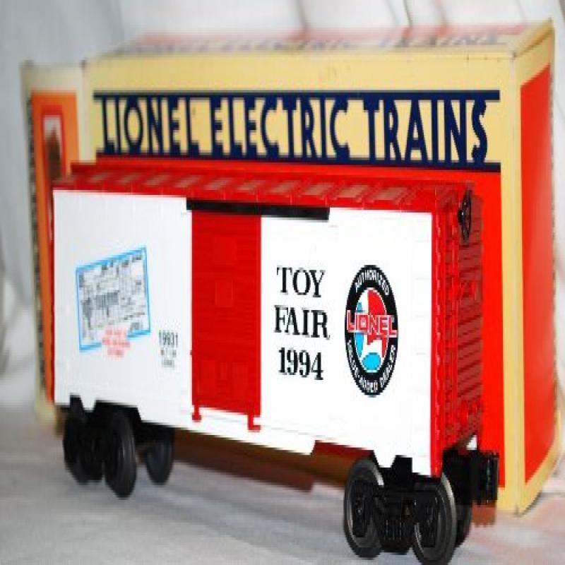 Lionel 6-19931 1994 DEALER New York Toy Fair Boxcar limit...