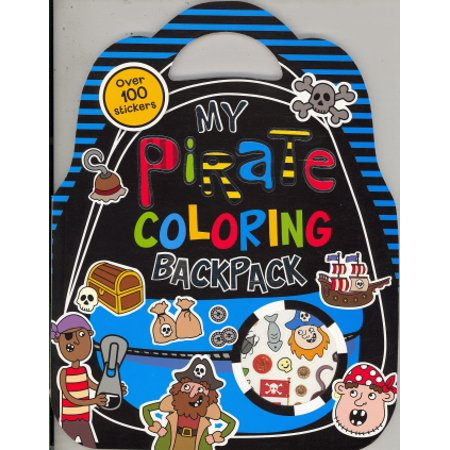 My Pirate Coloring Backpack