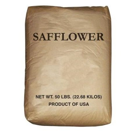 Safflower Seed Wild Best Bird Food Perfect to Diverisfy Seed Offerings - 50