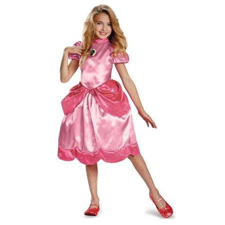 Princess Peach Classic Child Costume - Peaches Costume