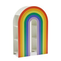 Rainbow Bookcase by Drew Barrymore Flower Kids