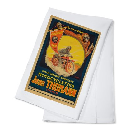 Jean Thomann Vintage Poster (artist: Mar Max) France c. 1924 (100% Cotton Kitchen Towel)