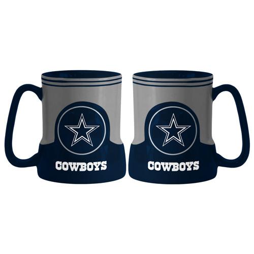 Dallas Cowboys Coffee Mug - 18oz Game Time (New Handle)