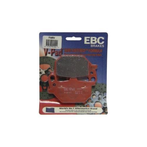 EBC Semi Sintered V Brake Pads Front Left Fits 79-81 Yamaha XS1100