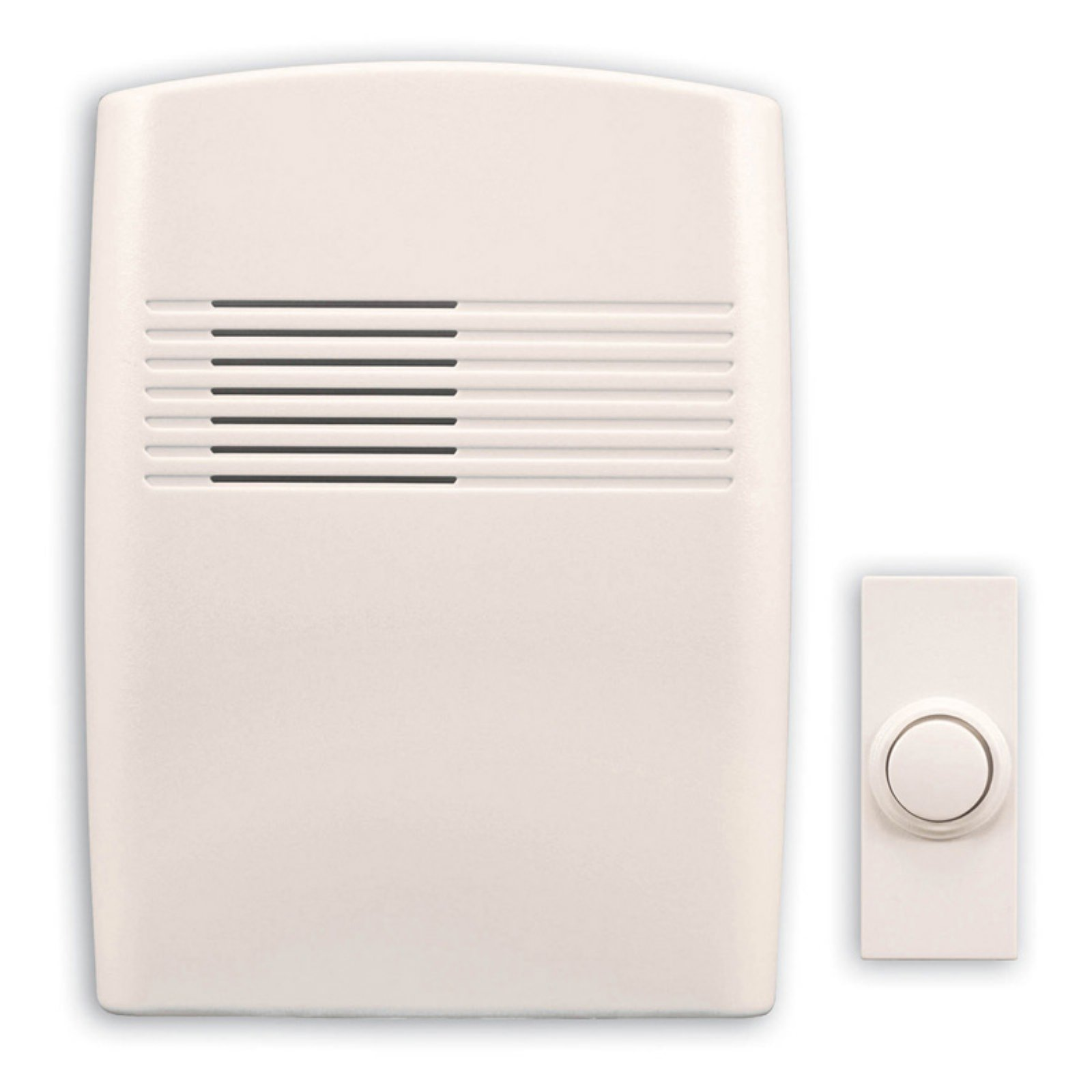 Heathco Wireless Battery-Operated Door Chime with Cover