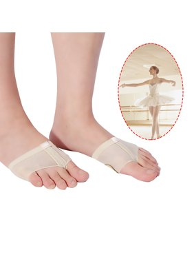 Zaqw Lyrical Ballet Belly Dance Foot Thongs Dance Paw Pad Shoes Half Sole Fitness Accessory, forefoot cushions covers,  half sole dance paw