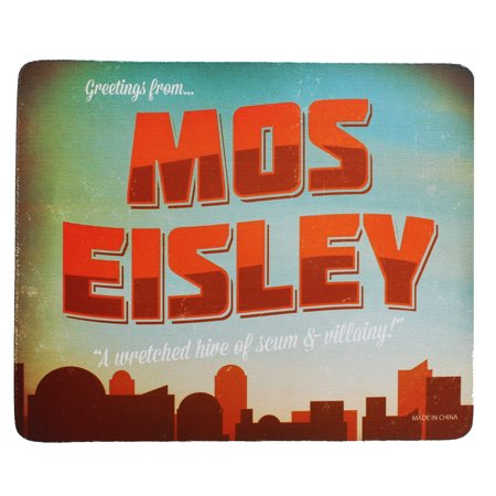 Mos Eisley Mouse Pad