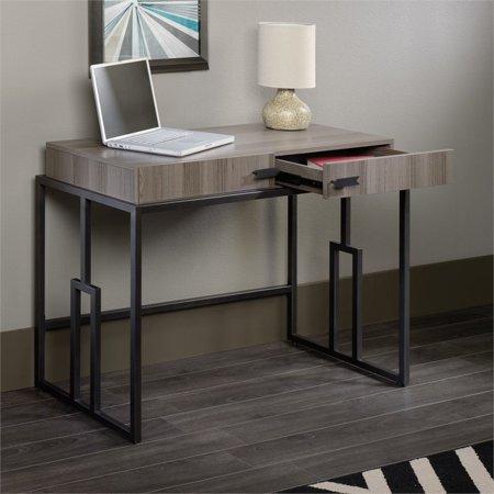 Sauder International Lux Writing Desk in Diamond Ash - image 7 de 8