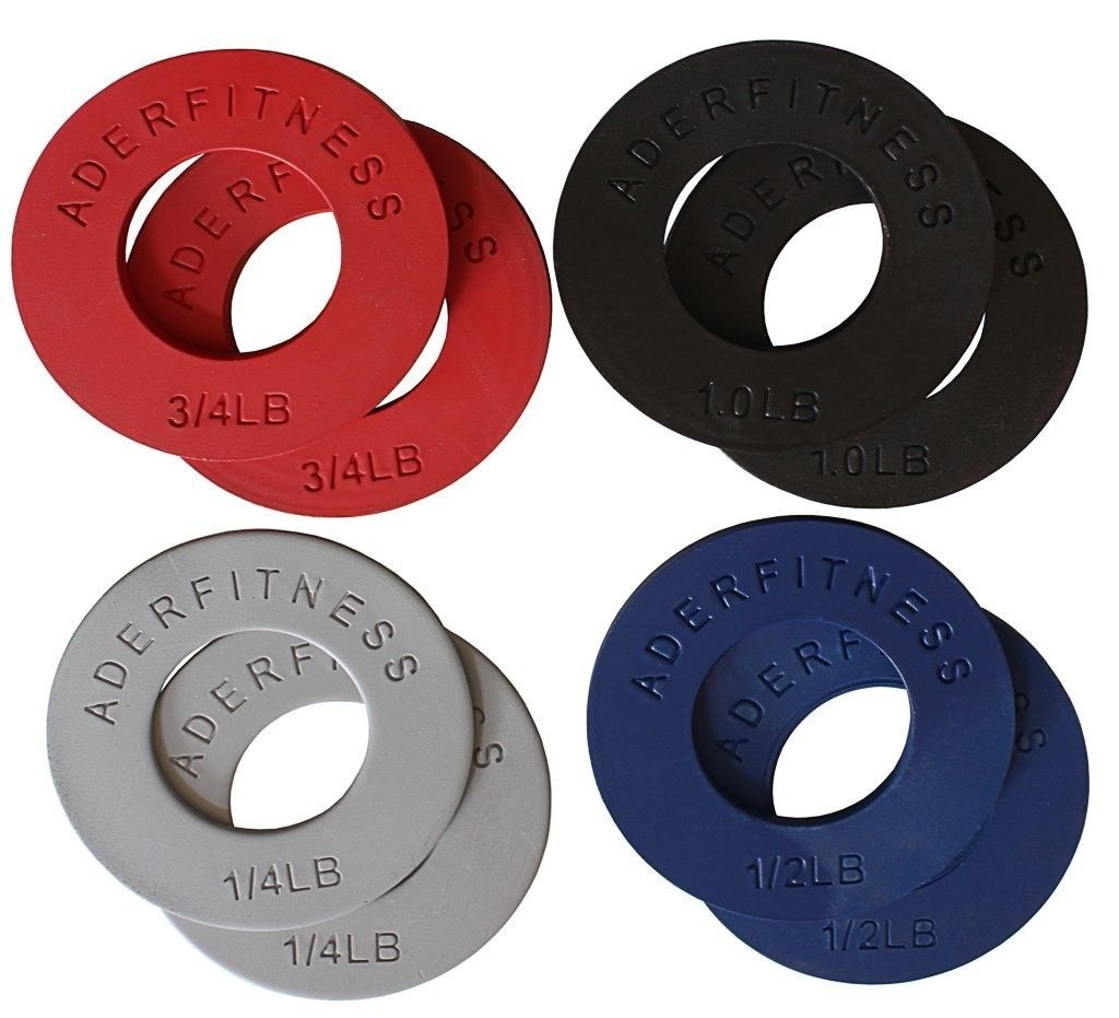 "Image of Ader Olympic Fractional Plates Micro-Loading 2"" - 5 lb. Set OFP-5LB 8 count"