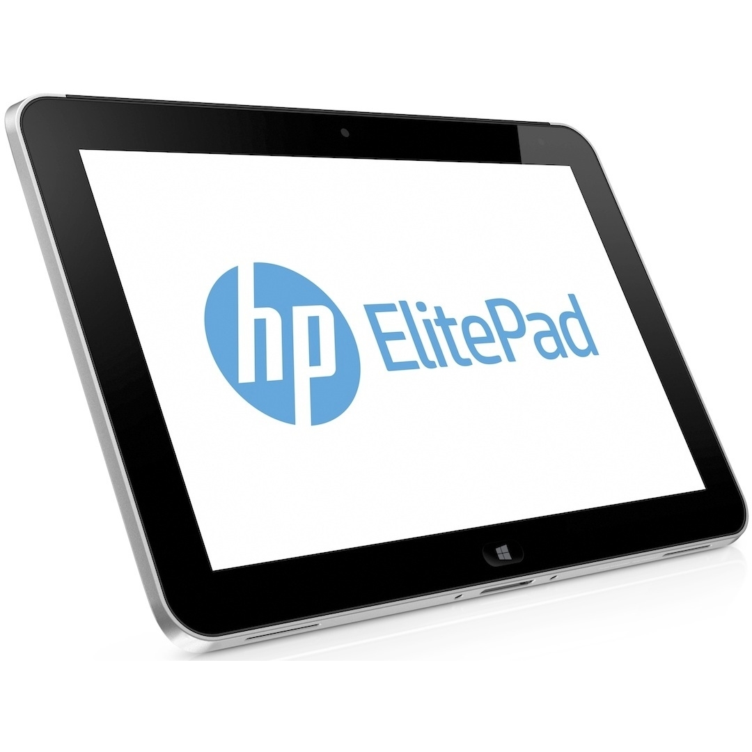 "HP ElitePad 900 Intel Atom Z2760 X2 1.8GHz 2GB 64GB SSD 10.1"" Win8, Silver (Refurbished)"