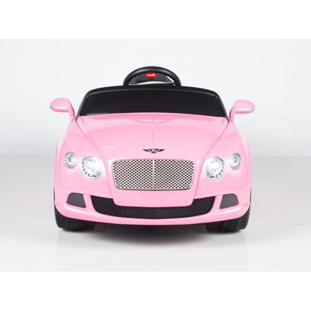 Licensed Bentley Continental Gt Kids Ride On Toy Car W Remote Control