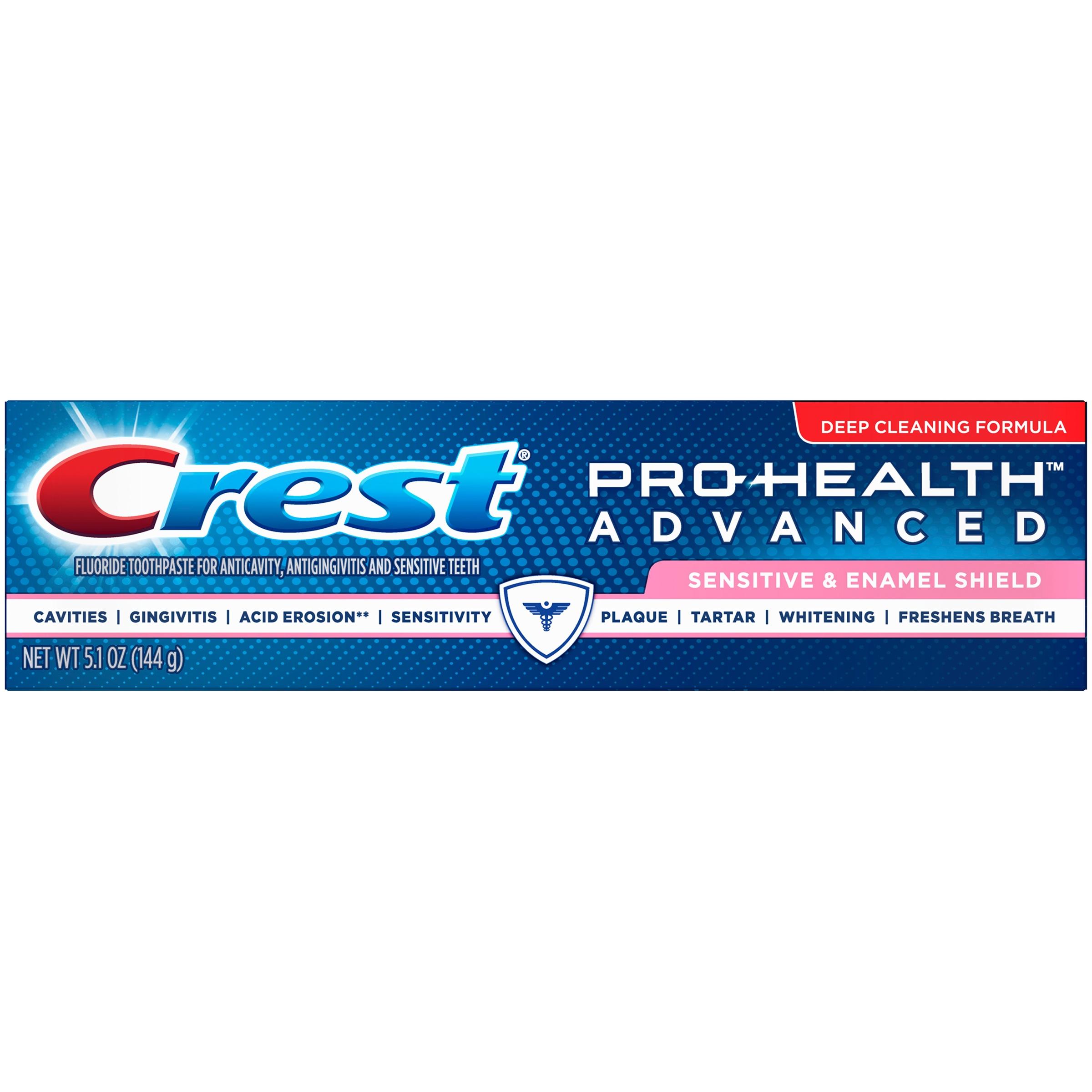 Crest Pro-Health Advanced Sensitive & Enamel Shield Toothpaste 5.1oz
