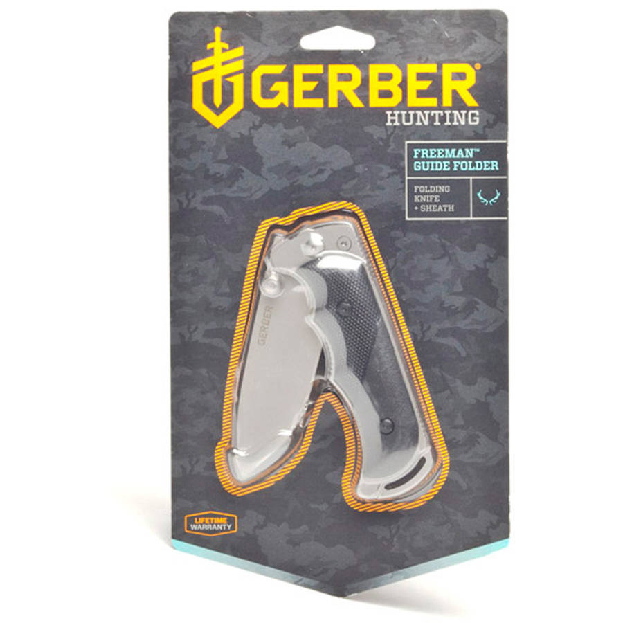 Gerber Freeman Guide Fine Edge Drop Point Knife with Sheath