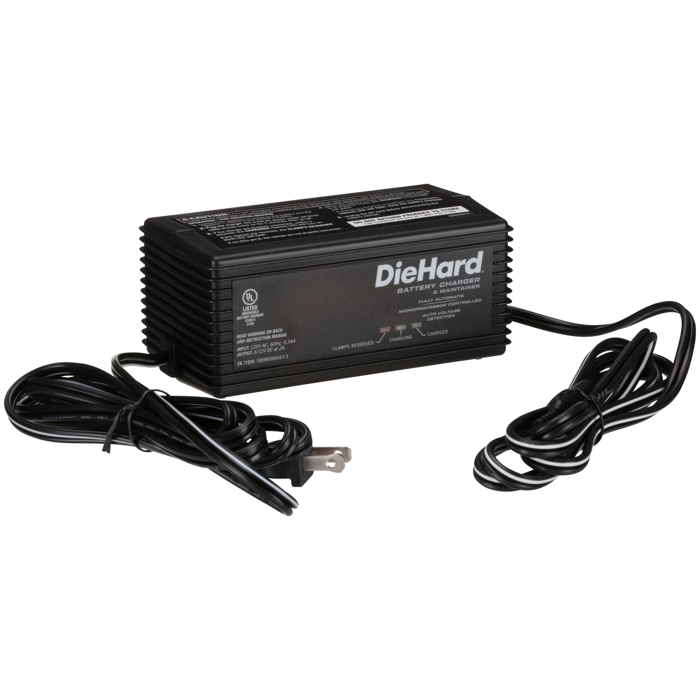 DieHard 6/12V Battery Charger and Maintainer