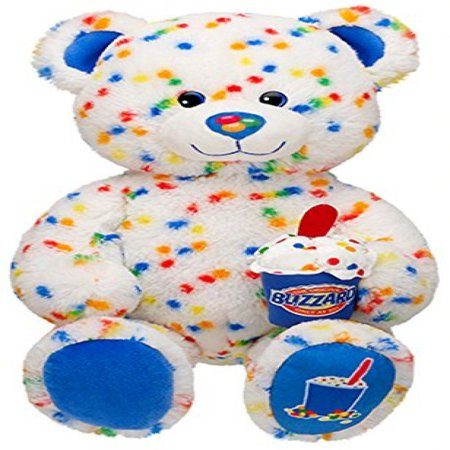 Build A Bear Workshop Candy Confetti Sprinkles Blizzard Scented Dq Dairy Queen Ice Cream Teddy Stuffed Plush Toy Animal