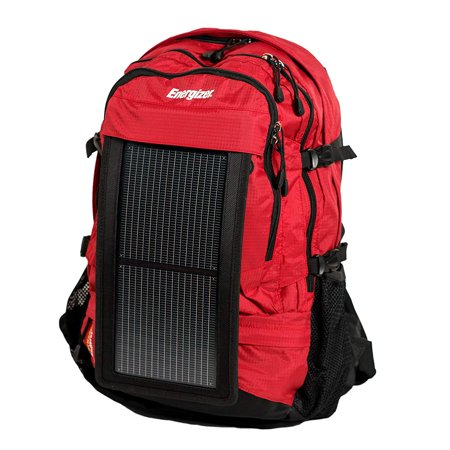 Energizer PowerKeep Wanderer Solar Panel Backpack with 10000mAh Power Bank