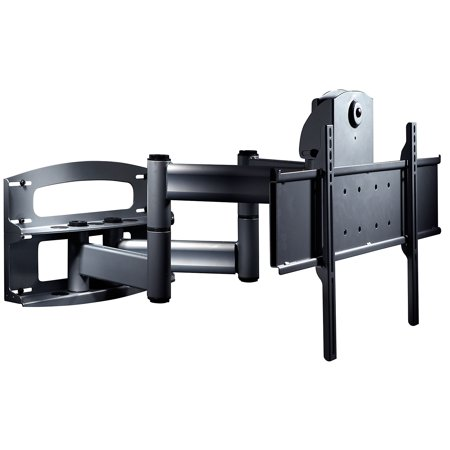 Peerless Full-Motion Plus Wall Mount With Vertical Adjustment PLAV70-UNLP - Mounting kit ( wall plate, articulating arm, adapter plate ) for LCD / plasma panel - steel - black - screen size: 42