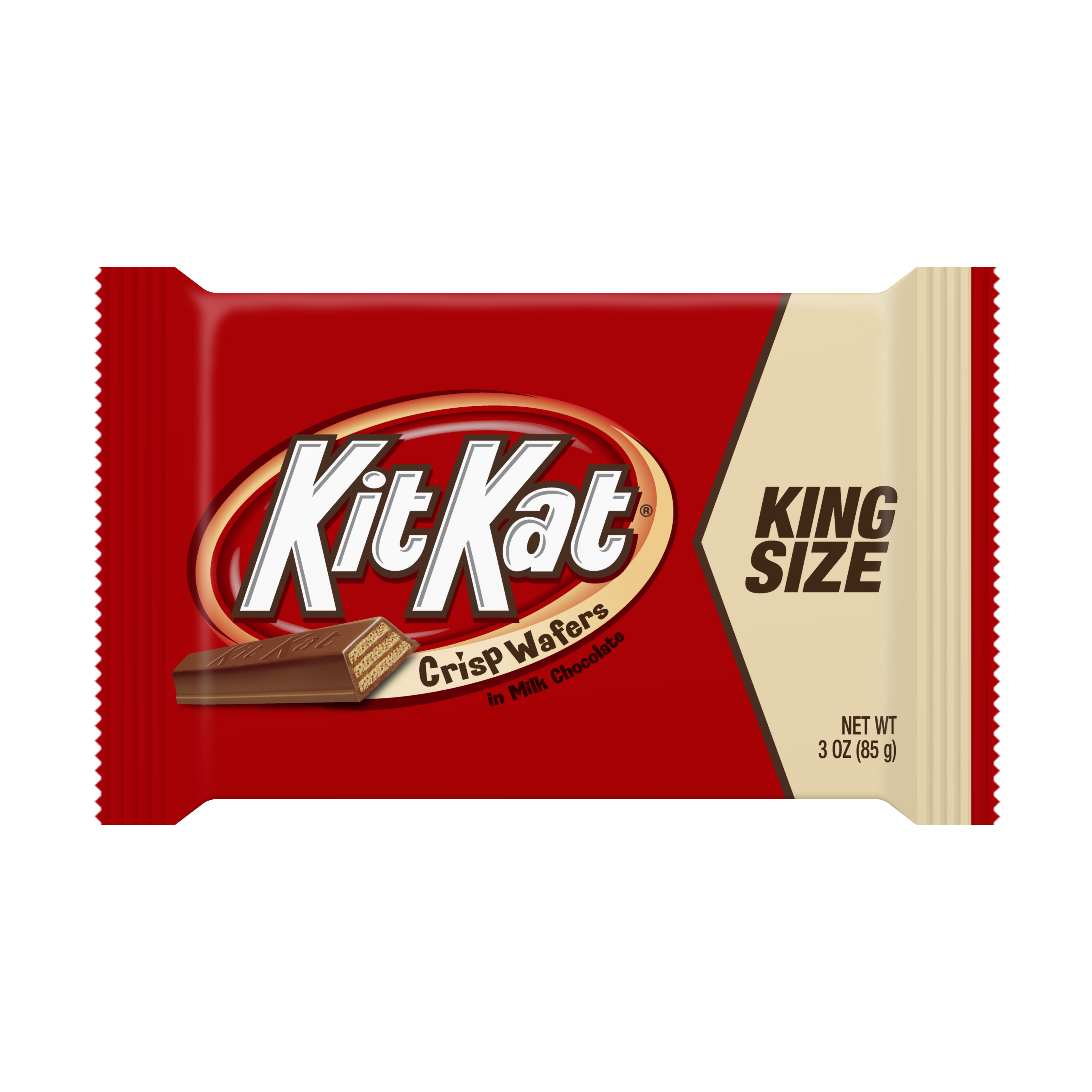 KIT KAT King Size Wafer Bar, 3 Ounces