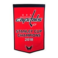 b317ba7b48c Product Image Washington Capitals 2018 Stanley Cup Champions Dynasty Banner  - No Size