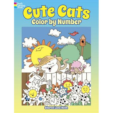 Cute Cats Color by Number](Color By Numbers Online Halloween)
