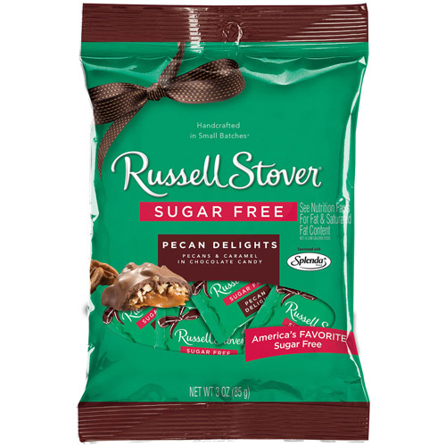 Russell Stover: Sugar Free Pecan Delights, 3 Oz