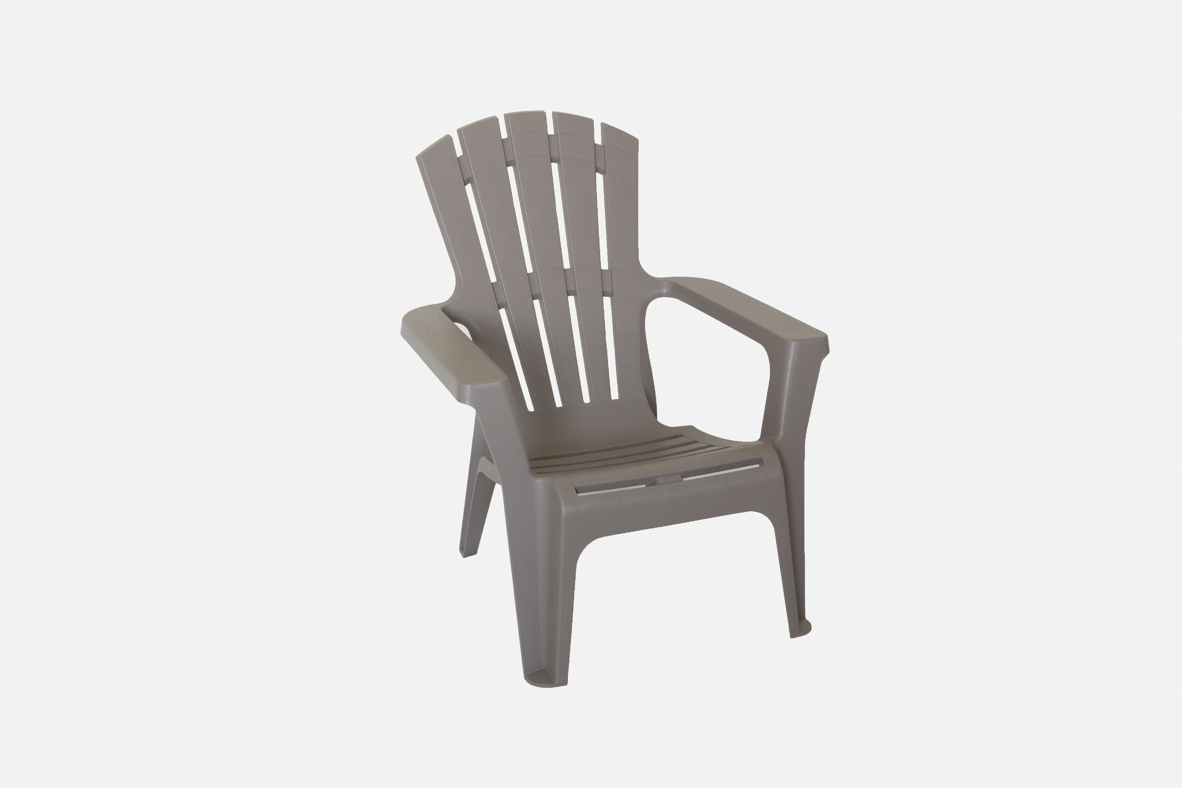 Incadozo Adirondack Chair in Warm Gray (4 Pack) by Bestsign International Inc
