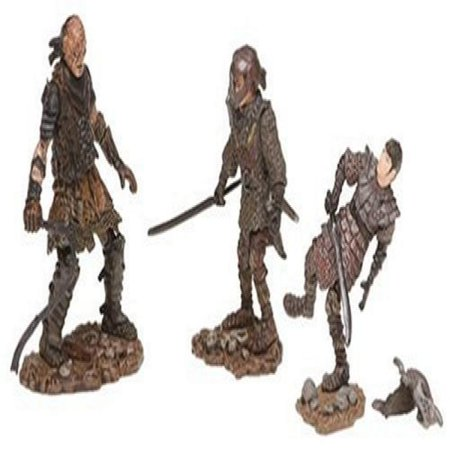 Lord of the Rings Figure 3 Pack: Sam in Orc Armor/Frodo in Orc Armor/Orc (Orcs In The Lord Of The Rings)