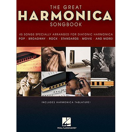 Harmonica Song Sheets - The Great Harmonica Songbook (Paperback)