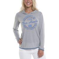 Product Image Women s Gray North Carolina Tar Heels Mason Block Pullover  Hoodie f3b0e5c25