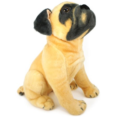 Pippen the Pug | 15 Inch Large Dog Stuffed Animal Plush Dog | By Tiger Tale Toys Dog Stuff Animals