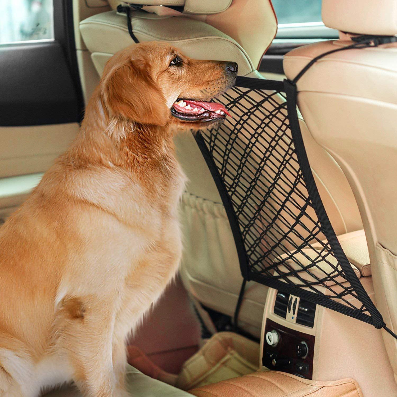 Coolmade Car Dog Barrier Seat Net