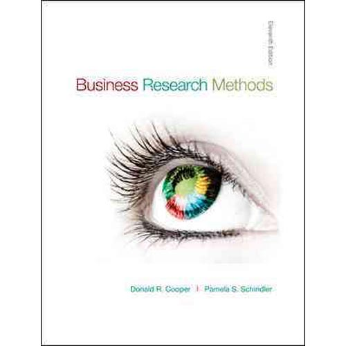 question 1 8 business research methods Quantitative methods exam paper in: business and 3 each part) q:4 do question 8-1 (given on p 331 quantitative and qualitative research methods paper.