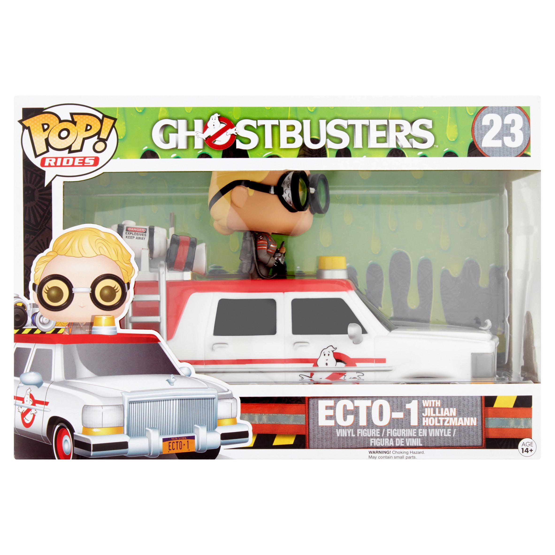Funko Pop! Rides Ghostbusters 2016 ECTO-1 with Jillian Holtzmann