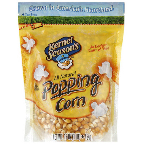Kernel Season's All Natural Popping Corn, 16 oz (Pack of 6)