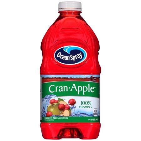 Ocean Spray Juice, Cran-Apple, 64 Fl Oz, 1 Count