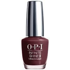 OPI Infinite Shine Nail Lacquer, Stick To Your Burgundies, 0.5 Fl Oz ()