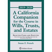Supplements: A California Companion for the Course in Wills, Trusts, and Estates (Paperback)